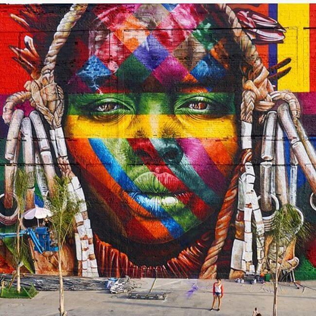 Largest Street Mural 4