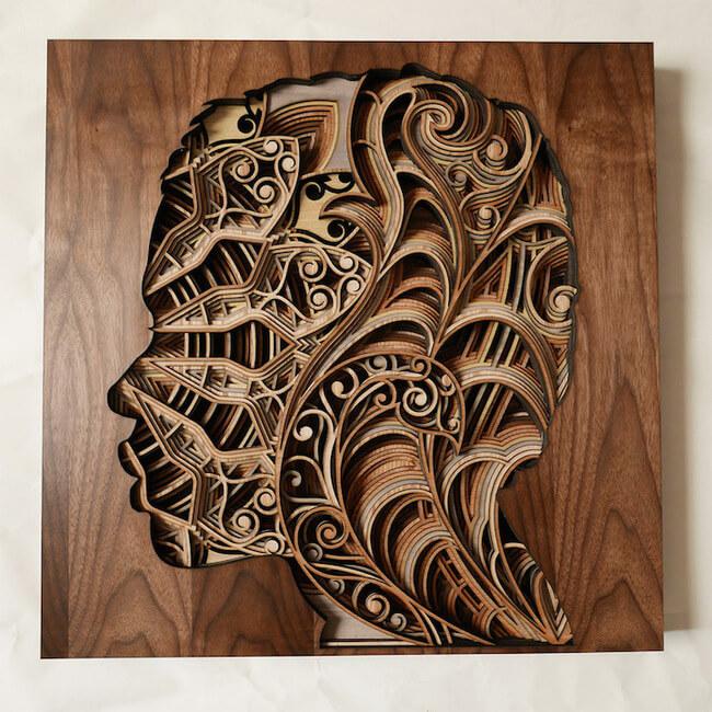 Wood Sculptures by Gabriel Schama 1
