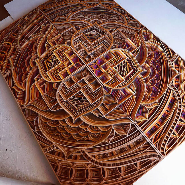 Wood Sculptures by Gabriel Schama 7
