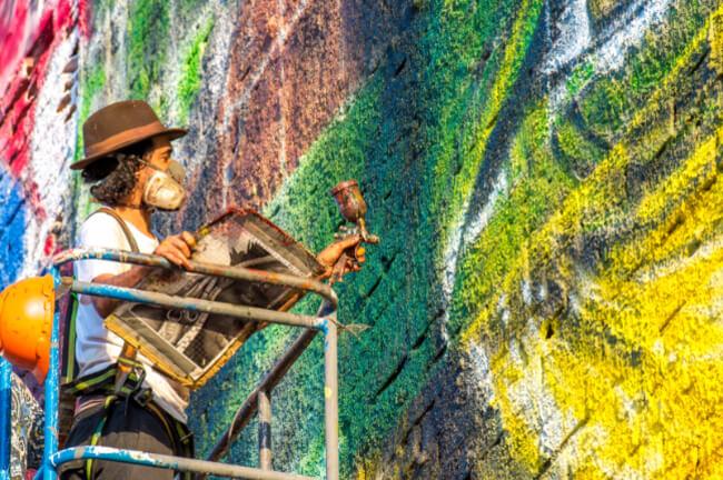 Largest Street Mural 2