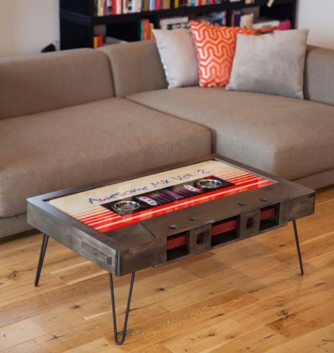 cassette tape coffee table 6