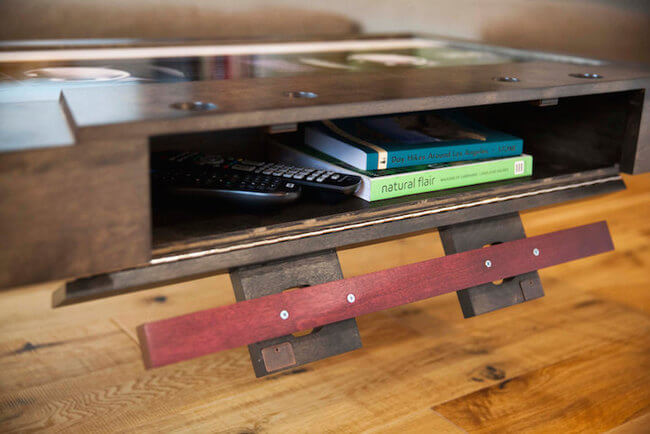 cassette tape coffee table 7
