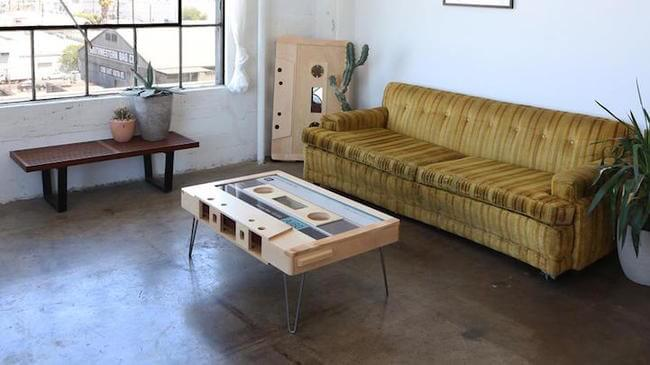 cassette tape coffee table 4