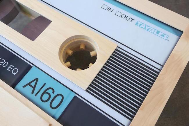 cassette tape coffee table 3