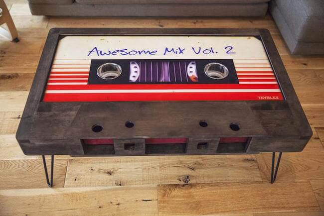 cassette tape coffee table 5