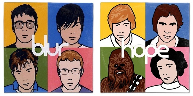 STAR WARS ALBUM COVERS 10