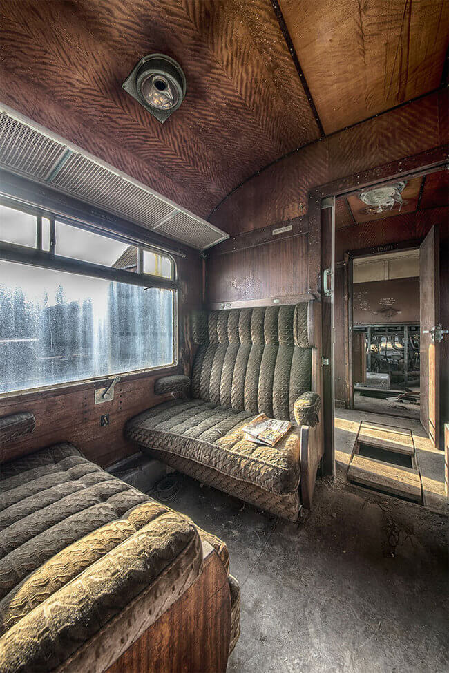 Abandoned Orient Express Train 5