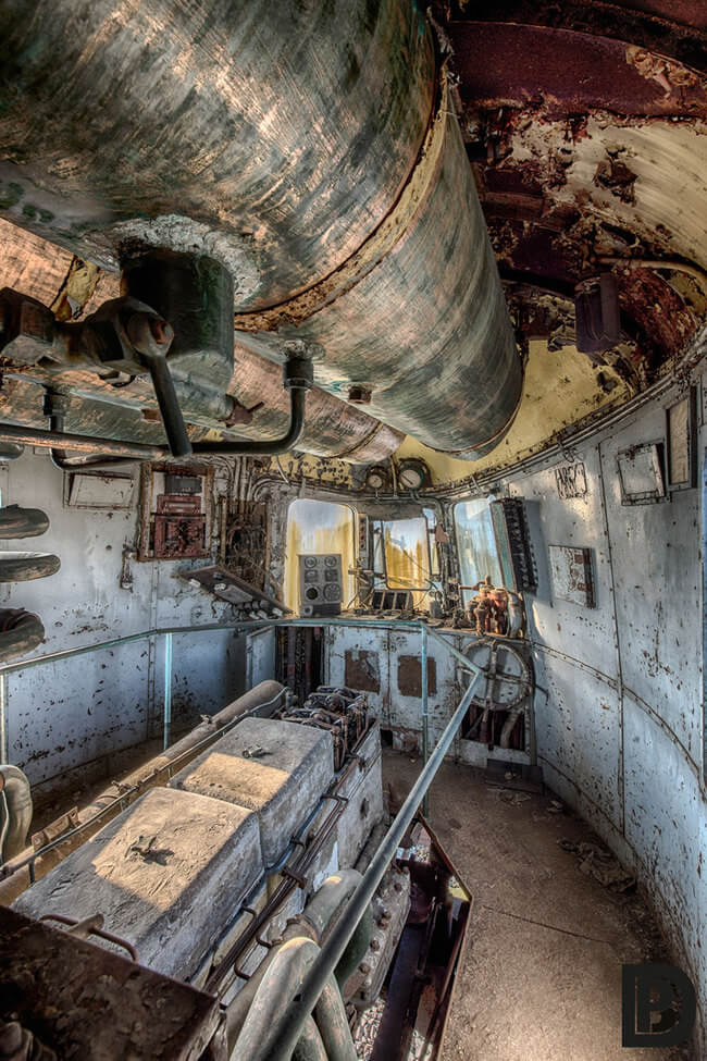 Abandoned Orient Express Train 3