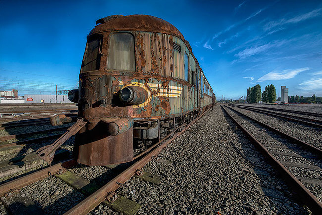 Abandoned Orient Express Train 1