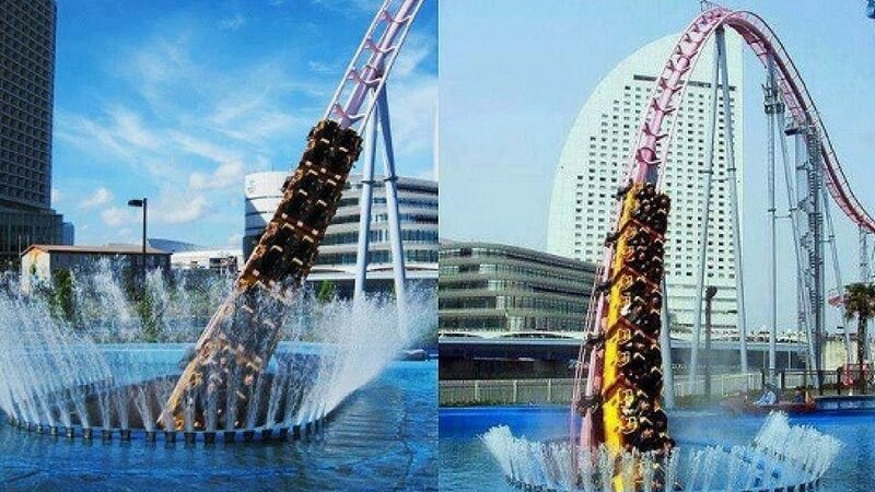 Check Out This Amazing Underwater Roller Coaster In Japan