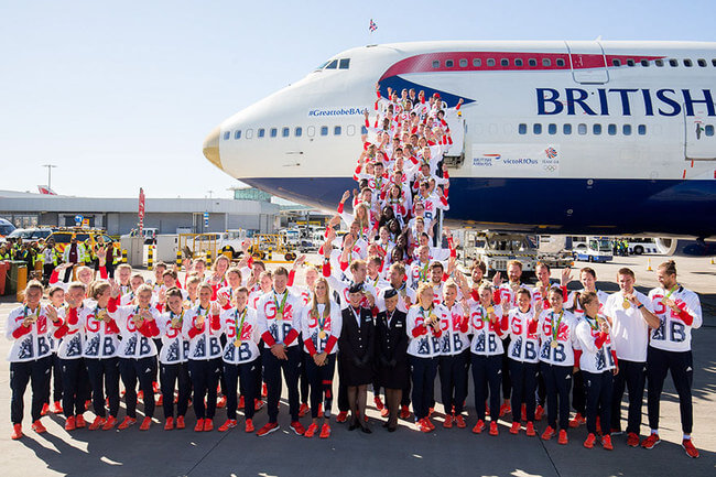 British Olympic Athletes All Have The Same Bag 5