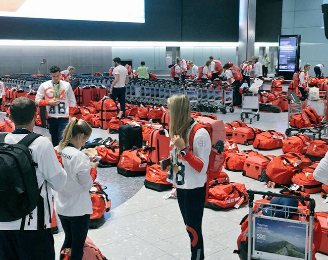 British Olympic Athletes All Have The Same Bag 2