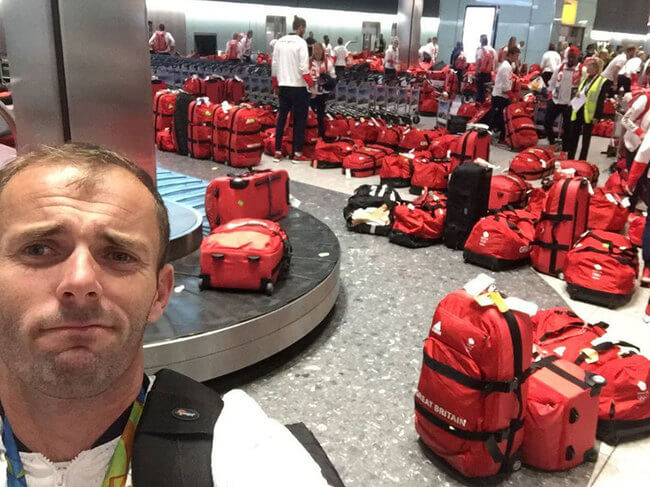British Olympic Athletes All Have The Same Bag 1