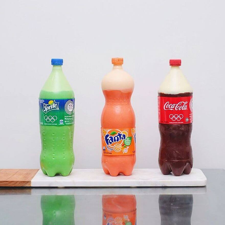 cakes look like soda bottles (1)