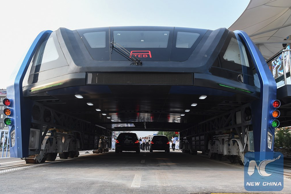 china elevated bus 22
