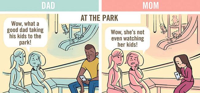 mom vs dad 2