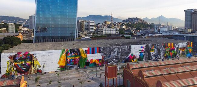 Largest Street Mural 8