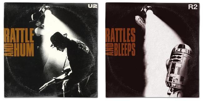 STAR WARS ALBUM COVERS 7