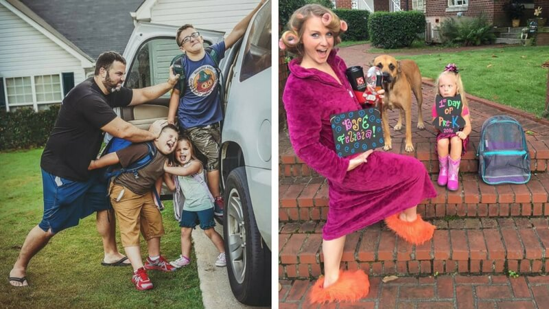 22 Funny Back To School Pictures Every Parent Can Relate Too