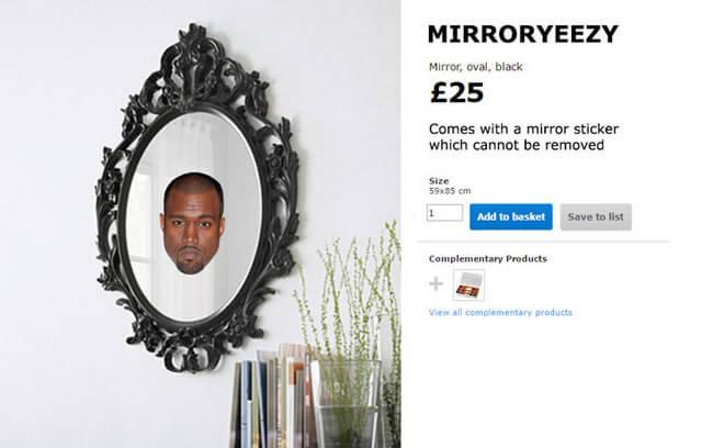 IKEA Trolls Kanye West 9