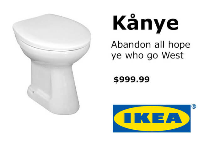 IKEA Trolls Kanye West 12