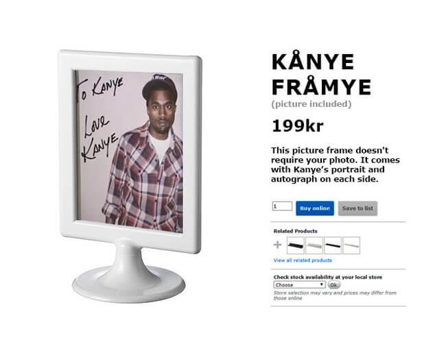 IKEA Trolls Kanye West 7