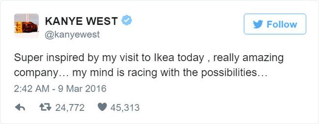 IKEA Trolls Kanye West 2