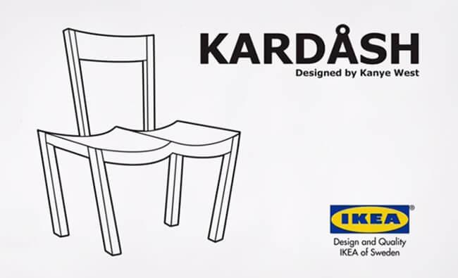 IKEA Trolls Kanye West 1