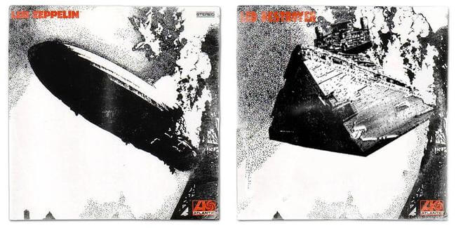 STAR WARS ALBUM COVERS 6