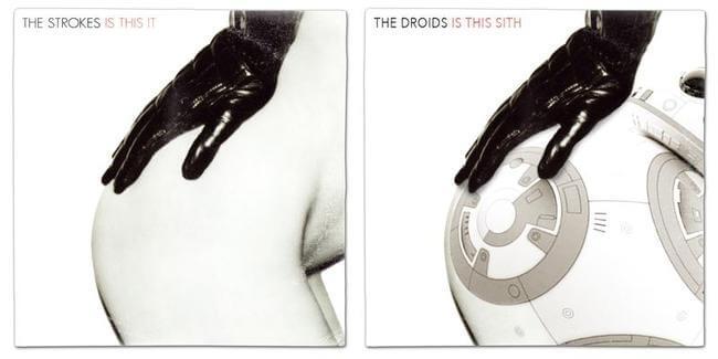 STAR WARS ALBUM COVERS 21