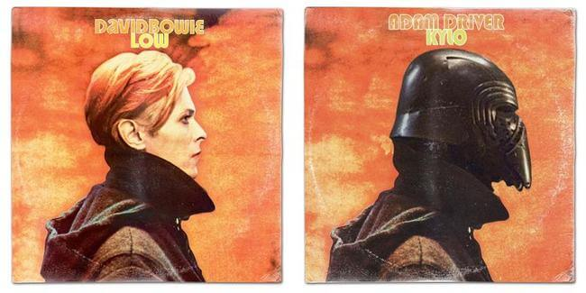 STAR WARS ALBUM COVERS 9