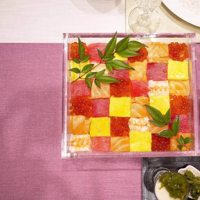 mosaic artwork sushi trend 6