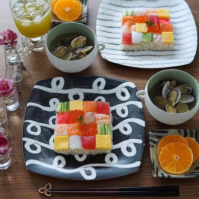 mosaic artwork sushi trend 7