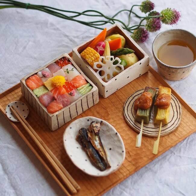 mosaic artwork sushi trend 4