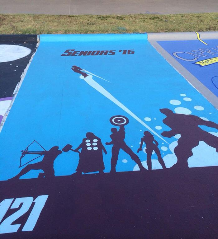 parking spot art by seniors 8 (1)