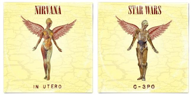 STAR WARS ALBUM COVERS 2