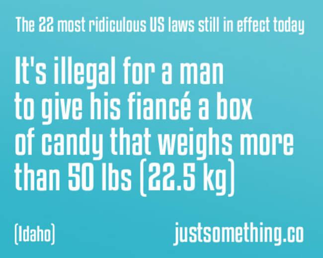 idiotic laws 18