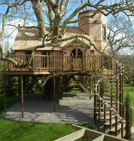 39 Amazing Tree Houses Everyone Wished They Had Growing Up