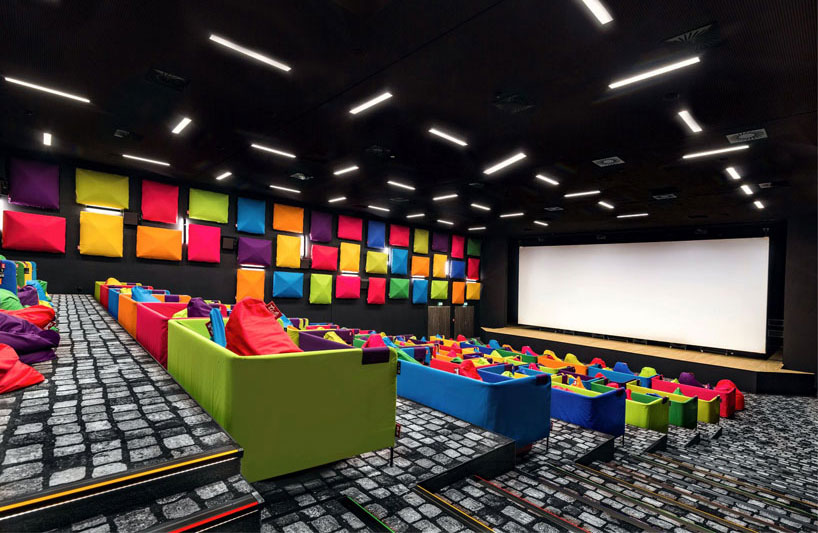 Cool Movie Theater In Slovakia Offers Snuggling Beanbags