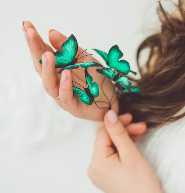 butterfly head crown 8