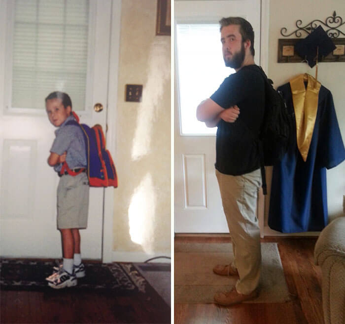 first day of school vs last day 15 (1)