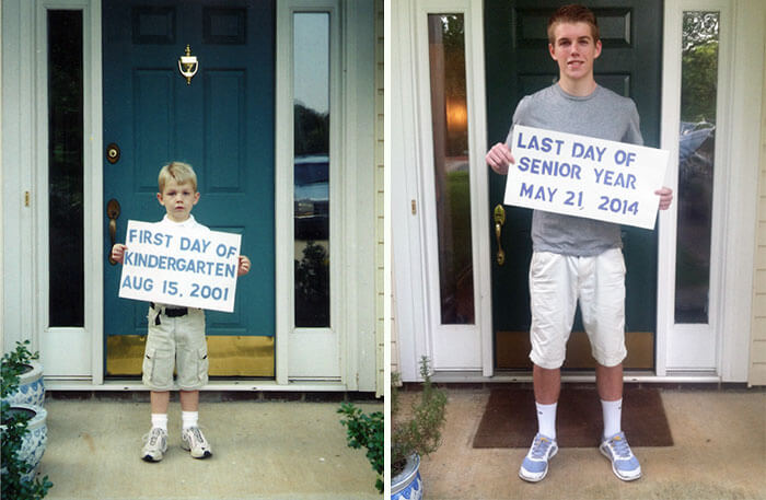 first day of school vs last day 9 (1)