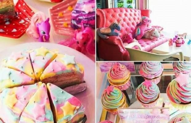cupcake unicorn café thailande