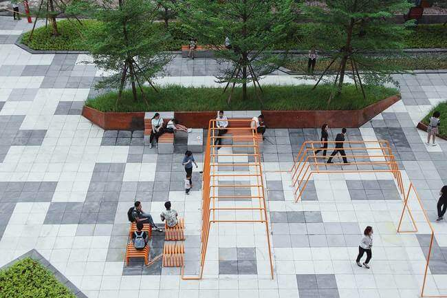 15 creative street furniture designs that are winning the for Park chair design