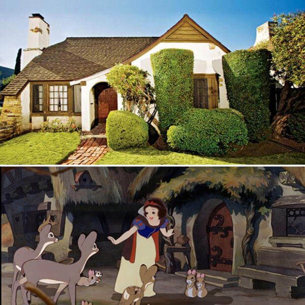 Real Life Locations That Inspired Disney Movie Locations