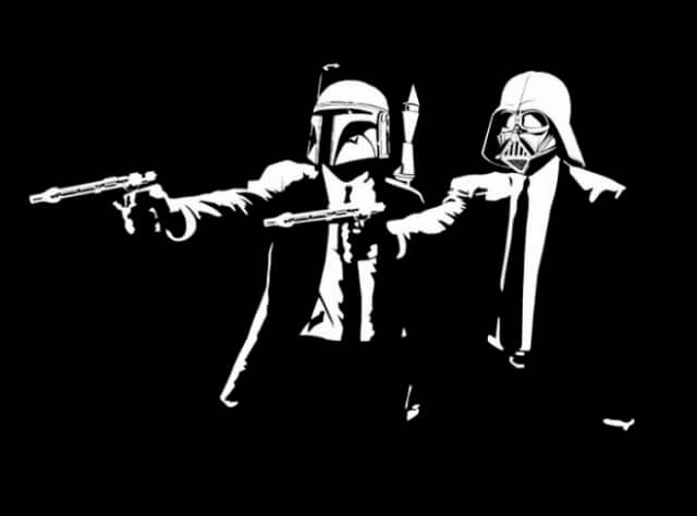 amazing photographs - pulp fiction star wars