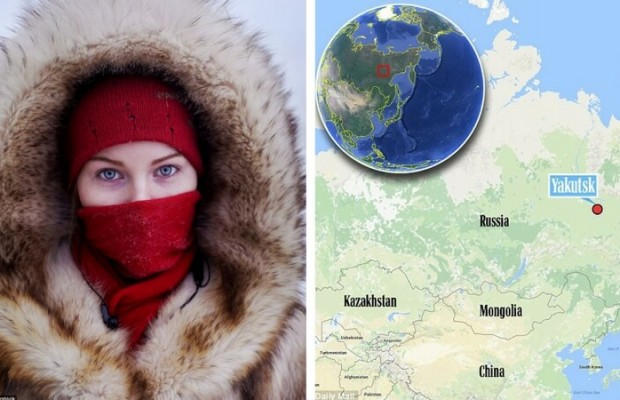 the coldest place on earth is a tiny russian town called oymyakon where temperatures drop to 58. Black Bedroom Furniture Sets. Home Design Ideas