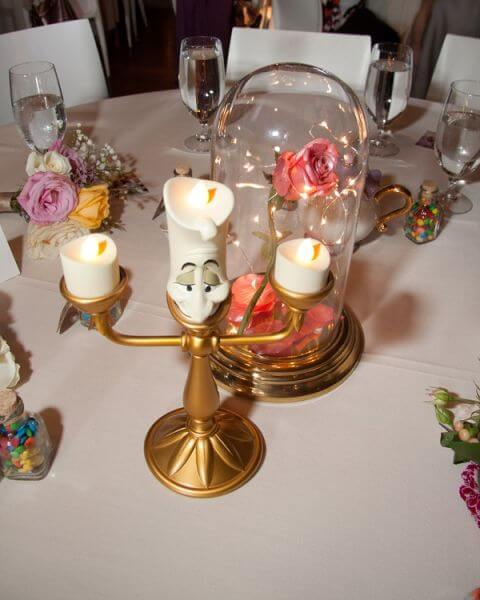 All The Tables In This Wedding Was Inspired By A Different Disney Movie