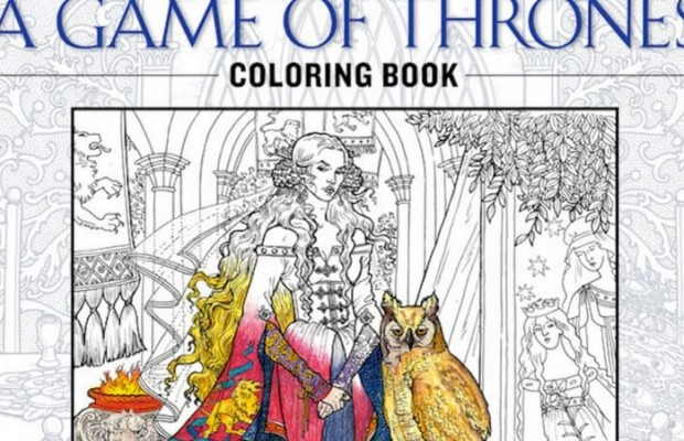 New Game Of Thrones Coloring Book Is Coming Brace Yourself