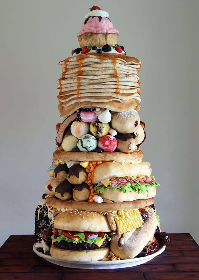 junk food cakes laura loukaides (1)